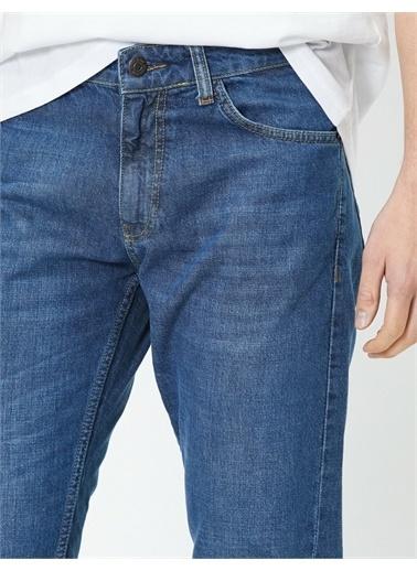Koton Mark Straight Jean Pantolon Mavi